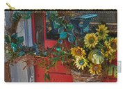 Wreath And The Red Door Carry-all Pouch