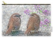 Wren Bird Sweethearts Carry-all Pouch