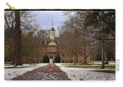 Wren Building In Snow Carry-all Pouch
