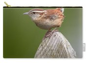 Wren Chirping Carry-all Pouch
