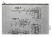 Wrench Patent Drawing Carry-all Pouch