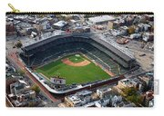 Wrigley Field Chicago Sports 02 Carry-all Pouch by Thomas Woolworth