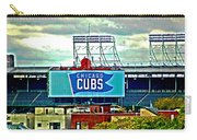 Wrigley Field Chicago Cubs Carry-all Pouch