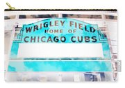 Wrigley Field Sign - X-ray Carry-all Pouch