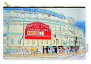 Wrigley Field Sketch Carry-all Pouch