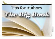 Write It Right - Tips For Authors - The Big Book Carry-all Pouch