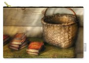 Writer - A Basket And Some Books Carry-all Pouch