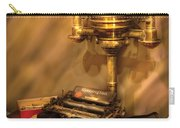 Writer - Remington Typewriter Carry-all Pouch by Mike Savad