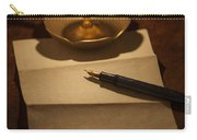 Writing A Letter By Candle Light Carry-all Pouch