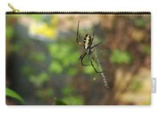 Writing Spider Carry-all Pouch by Nelson Watkins