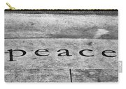 Written In Stone Carry-all Pouch by Christi Kraft