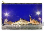 Wroclaw Poland Historical Market Square And The Town Hall Carry-all Pouch