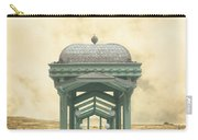 Wrong Train Right Station Carry-all Pouch by Edward Fielding