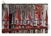 Wrought Iron Fence Spears Carry-all Pouch
