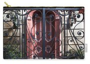 Wrought Iron Gate And Red Door Charleston South Carolina Carry-all Pouch