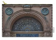 Wrought Iron Grille - The Omaha Building Carry-all Pouch