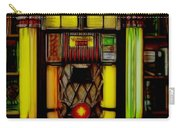 Wurlitzer 1946 Jukebox - Featured In Comfortable Art Group Carry-all Pouch