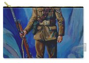 Ww 1 Soldier Carry-all Pouch by Derrick Higgins