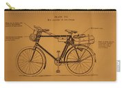 Ww1 Military Bicycle Carry-all Pouch