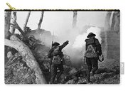 Wwi American Soldiers  Carry-all Pouch by Photo Researchers