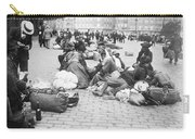 Wwi Refugees, C1914 Carry-all Pouch