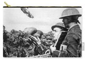 Wwi Releasing British Carrier Pigeon Carry-all Pouch