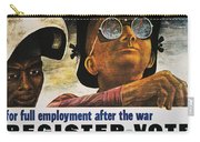 Wwii: Employment Poster Carry-all Pouch