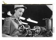 Wwii Woman War Worker Carry-all Pouch