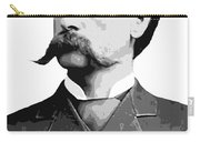 Wyatt Earp Legend Of The Old West Carry-all Pouch