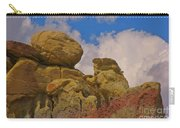 Wyoming Badlands Rock Detail Two Carry-all Pouch