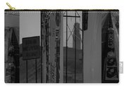 Wyoming Coal Mine Composition Black And White Carry-all Pouch