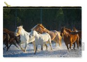 Wyoming Horses Carry-all Pouch
