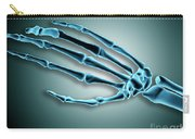 X-ray View Of Bones In Human Hand Carry-all Pouch