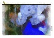 Xmas Elephant Ornament Photo Art 02 Carry-all Pouch