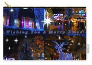 Xmas Greeting Collage Carry-all Pouch