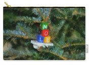 Xmas Noel Ornament Photo Art 01 Carry-all Pouch