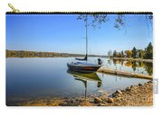 Yacht At The Little Manitou Lake Carry-all Pouch