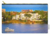Yacht On The Water Carry-all Pouch
