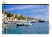 Yachting Harbor Of Hvar Island Carry-all Pouch