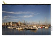 Yachts In A Marina At Sunset Carry-all Pouch