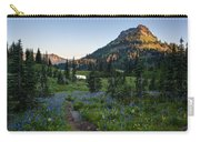 Yakima Peak At Sunrise Carry-all Pouch
