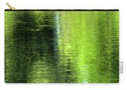 Yamhill River Abstract 24831 Carry-all Pouch