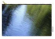 Yamhill River Abstract 24849 Carry-all Pouch