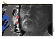 Yaqui Pascola Dancer Smoking Cigarette New Pascua Arizona 1969-2013 Carry-all Pouch