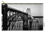 Yaquina Bay Bridge Carry-all Pouch by Benjamin Yeager