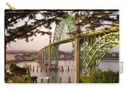 Yaquina Bay Bridge Morning Light Carry-all Pouch