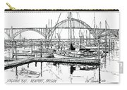 Yaquina Bay Newport Oregon Carry-all Pouch
