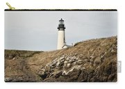 Yaquina Head Lighthouse From The Beach Carry-all Pouch