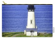 Yaquina Lighthouse From The Big Hill Carry-all Pouch