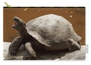 yawning juvenile Galapagos Giant Tortoise Carry-all Pouch